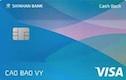 Thẻ tín dụng Shinhan Cash Back Chuẩn